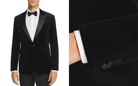 Theory Velvet Slim Fit Tuxedo Jacket - Bloomingdale's_2