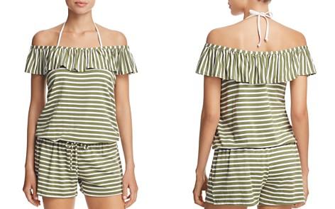 Splendid Stripe Covers Romper Swim Cover-Up - Bloomingdale's_2