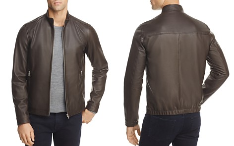 Theory Kelleher Morvek L Leather Jacket - Bloomingdale's_2