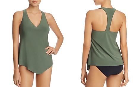 Magicsuit Solid Taylor Tankini Top & Solid Jersey Shirred Bikini Bottom - Bloomingdale's_2