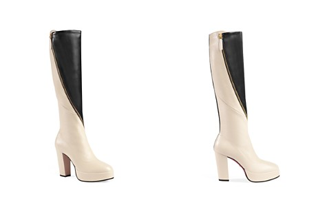 Gucci Women's Agon Leather Tall Boots - Bloomingdale's_2