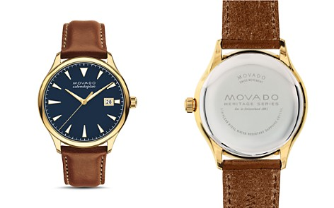 Movado Heritage Calendoplan Watch, 40mm - Bloomingdale's_2