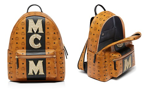 MCM Stark Stripe Stud Backpack - Bloomingdale's_2