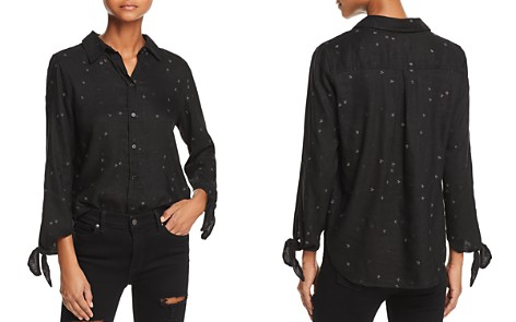 Rails Robyn Embroidered Tie-Cuff Shirt - Bloomingdale's_2