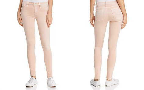 Hudson Mid-Rise Cropped Skinny Jeans in Rosewater - Bloomingdale's_2