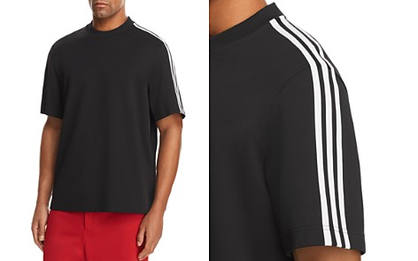 Y-3 Three Stripes Crewneck Short Sleeve Tee - Bloomingdale's_2
