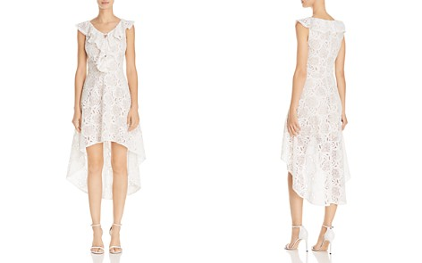 AQUA High/Low Lace Dress - 100% Exclusive - Bloomingdale's_2