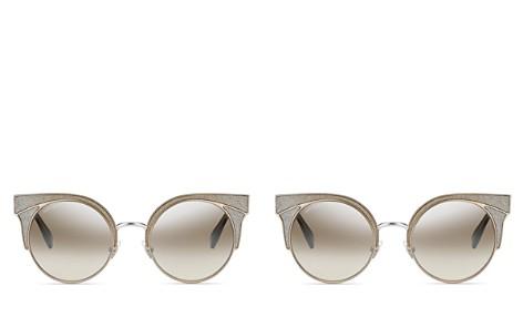 Jimmy Choo Oras Mirrored Cat Eye Sunglasses, 51mm - Bloomingdale's_2