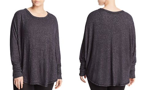 B Collection by Bobeau Curvy Sara Cozy Dolman Sleeve Top - Bloomingdale's_2