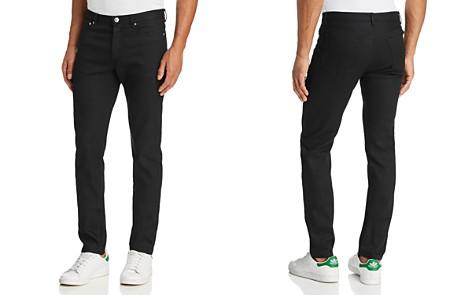 A.P.C. Petit New Standard Skinny Fit Jeans in Black - Bloomingdale's_2