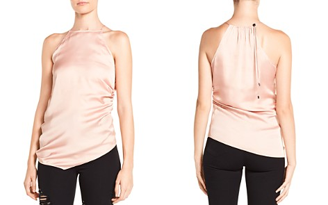 Haute Hippie I Wished for You Ruched Asymmetric Top - Bloomingdale's_2