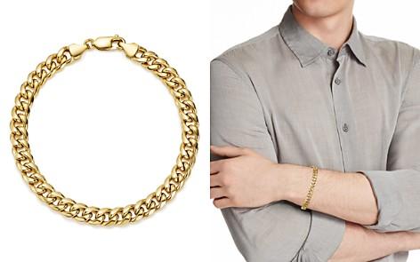 Bloomingdale's Men's Classic Chain Bracelet in 14K Yellow Gold - 100% Exclusive_2