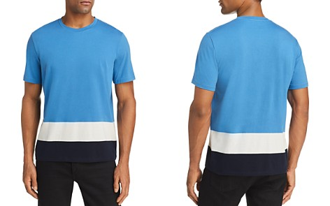 Theory Gaskell Colorblock-Hem Tee - 100% Exclusive - Bloomingdale's_2