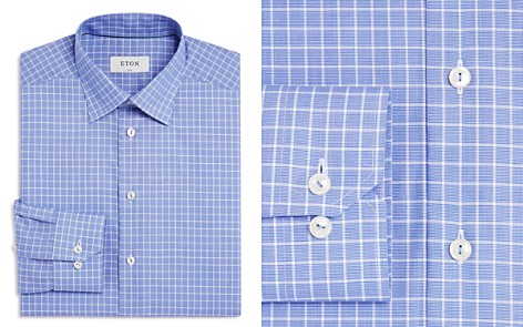 Eton Contemporary Windowpane Regular Fit Dress Shirt - Bloomingdale's_2