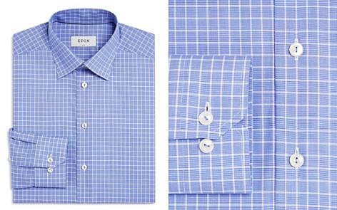 Eton Contemporary Windowpane Regular Fit Dress Shirt - Bloomingdale's_2