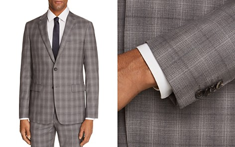 Theory Wellar Tonal Check Plaid Slim Fit Suit Jacket - Bloomingdale's_2