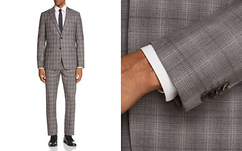 Theory Tonal Check Plaid Slim Fit Suit Separates - Bloomingdale's_2