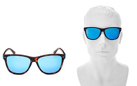 Polaroid Men's Mirrored Square Sunglasses, 56mm - Bloomingdale's_2