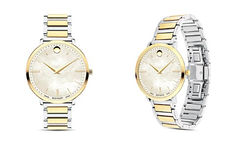 Movado Ultra Slim Two-Tone Watch, 35mm - Bloomingdale's_2