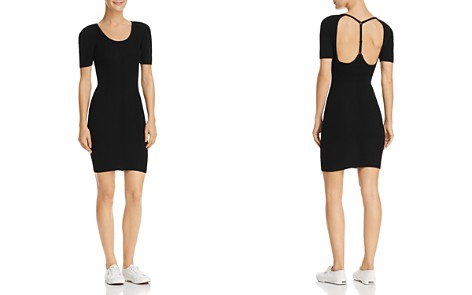 T by Alexander Wang Strap-Back Wool Dress - Bloomingdale's_2