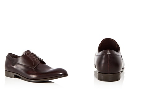 Armani Men's Leather Plain Toe Oxfords - Bloomingdale's_2