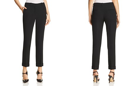 PAULE KA Slim Leg Pants - Bloomingdale's_2