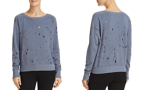LNA Distressed Sweatshirt - 100% Exclusive - Bloomingdale's_2