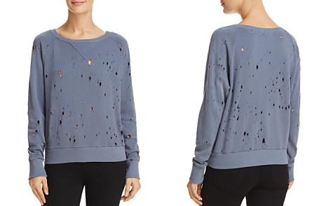 LNA Distressed Sweatshirt - 100% Exclusive - Bloomingdale's_2