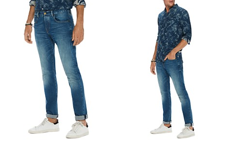Scotch & Soda Stretch Slim Straight Fit Jeans in Blue - Bloomingdale's_2