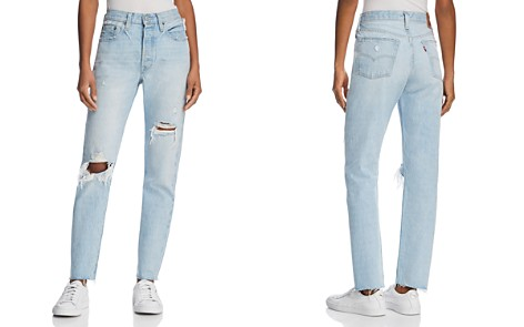 Levi's 501® Skinny Jeans in Semi Charming - Bloomingdale's_2
