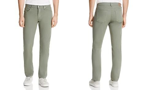 S.M.N Studio Hunter Standard Slim Fit Pants in Thyme - 100% Exclusive - Bloomingdale's_2