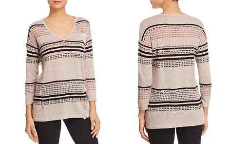 Avec Mixed Stripe Sweater - Bloomingdale's_2