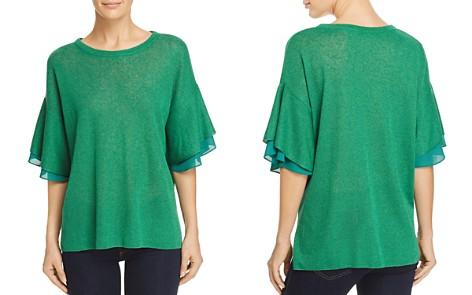 Le Gali Keslie Tiered Flutter-Sleeve Sweater - 100% Exclusive - Bloomingdale's_2