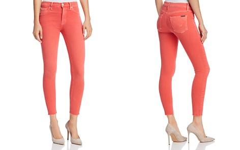 Hudson Barbara High Waist Super Skinny Jeans in Worn Explosive - Bloomingdale's_2