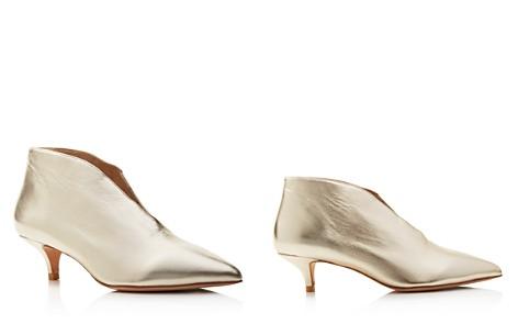 Pour La Victoire Women's Kora Leather Kitten Heel Booties - Bloomingdale's_2