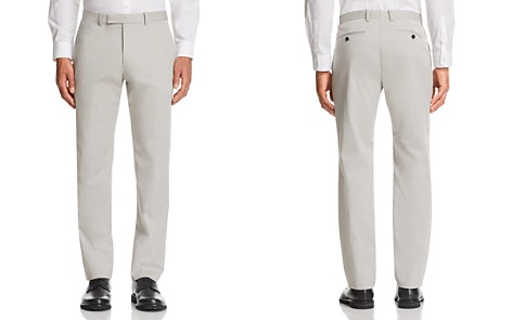 Theory Marlo Cotton Slim Fit Suit Pants - Bloomingdale's_2