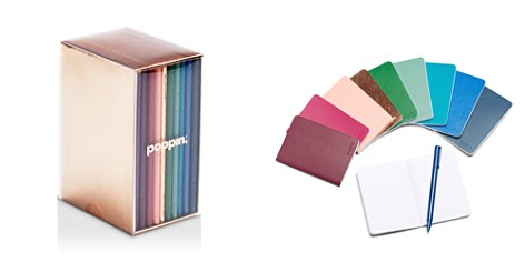 Poppin Mini Medley Jewel Tones Soft Cover Notebooks, Set of 10 - Bloomingdale's_2
