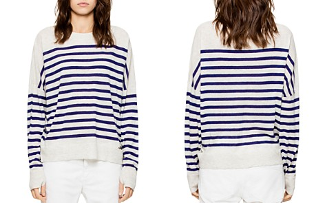 Zadig & Voltaire Rony Striped Cashmere Sweater - Bloomingdale's_2