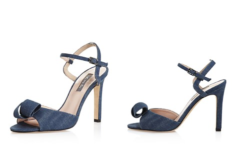 SJP by Sarah Jessica Parker Women's Ferry Denim High-Heel Ankle Strap Sandals - 100% Exclusive - Bloomingdale's_2