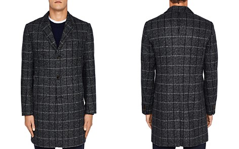 Ted Baker Ando Checked Overcoat - Bloomingdale's_2