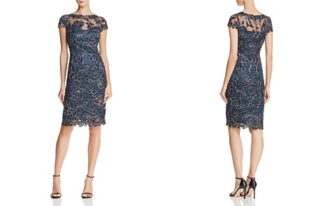 Tadashi Shoji Petites Embroidered Cocktail Dress - Bloomingdale's_2