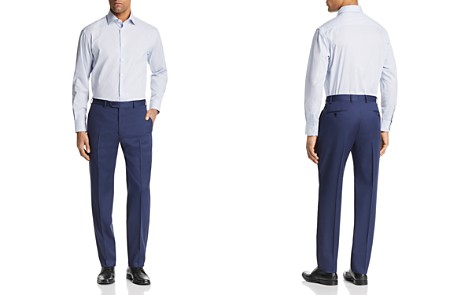 Emporio Armani Micro Check Regular Fit Button-Down Shirt - Bloomingdale's_2