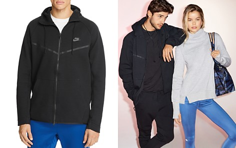 Nike Tech Fleece Windrunner Hoodie Sweatshirt - Bloomingdale's_2