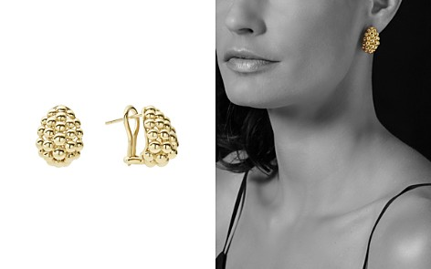LAGOS Caviar Gold Collection 18K Gold Domed Huggie Earrings - Bloomingdale's_2