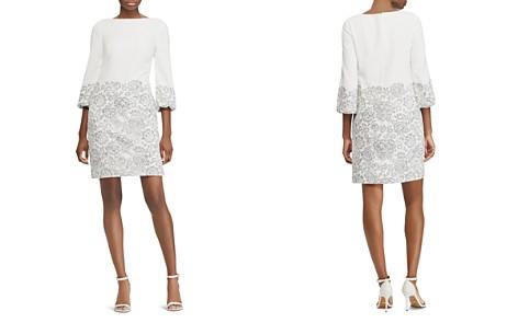 Lauren Ralph Lauren Petites Lace Overlay Dress - Bloomingdale's_2
