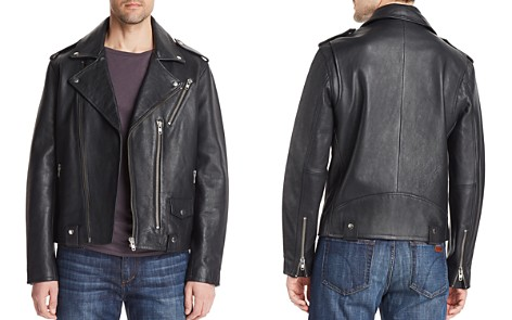 Joe's Jeans Leather Biker Jacket - Bloomingdale's_2