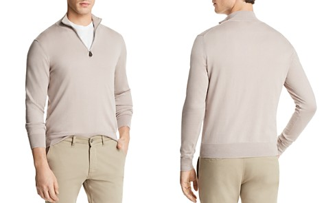 The Men's Store at Bloomingdale's Quarter-Zip Sweater - 100% Exclusive_2