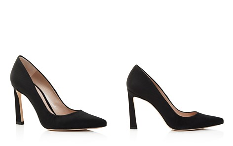 Stuart Weitzman Women's Chicster Grosgrain Pointed Toe Pumps - Bloomingdale's_2