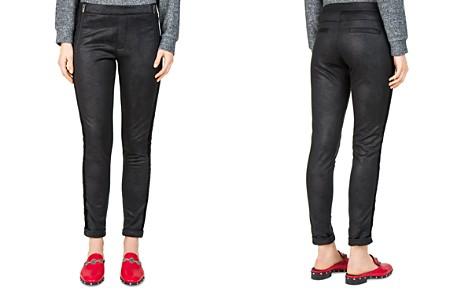 The Kooples Leather-Effect Sweatpants - Bloomingdale's_2
