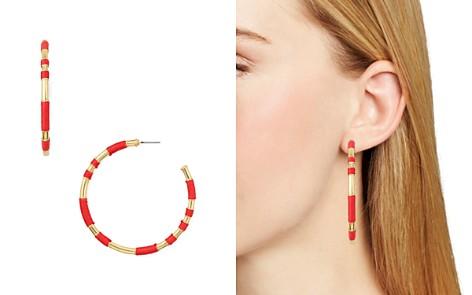 AQUA Wrap Hoop Earrings - 100% Exclusive - Bloomingdale's_2
